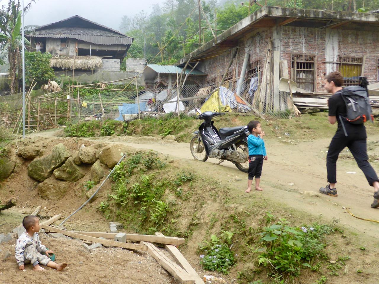 Village near Ban Ma